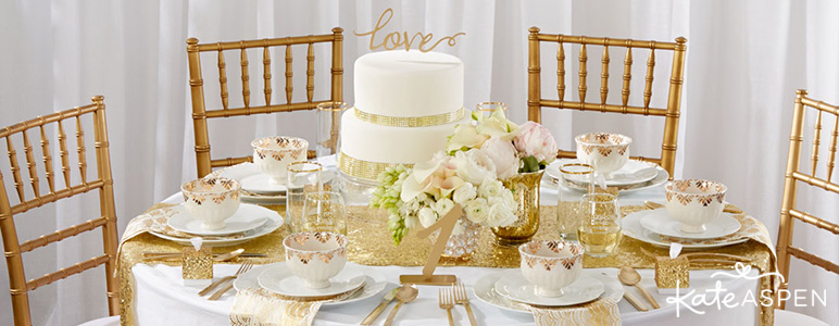 Gold Glam Wedding