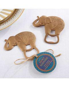 Lucky Golden Elephant Bottle Opener