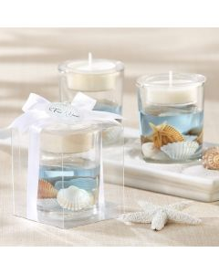 Seashell Gel Tealight Holder