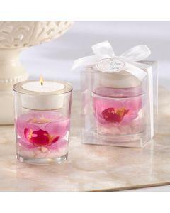 """Elegant Orchid"" Tea Light Holder"