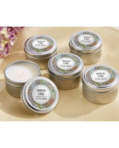 Personalized Travel Candle - Travel and Adventure