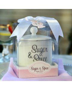 Sugar Spice and Everything Nice Ceramic Sugar Bowl
