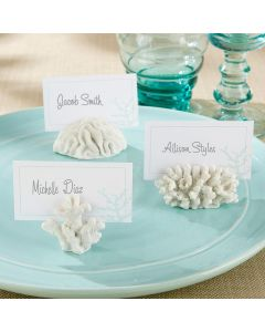 """""""Seven Seas"""" Coral Place Card/Photo Holder (Set of 6)"""