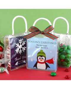 Holiday Mini Gift Tote Favor