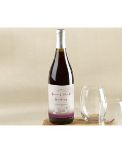 Personalized Vineyard Wine Bottle Labels