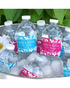 Water Bottle Labels-Silhouette Collection (Set of 5)