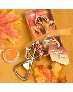 Autumn Magic Collection Leaf Design Bottle Openers