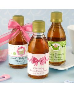 Baby Maple Syrup Favors
