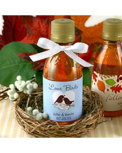Designing Ducks Maple Syrup Favors