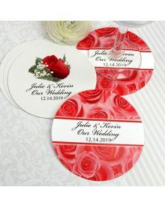 Paper Wedding Coasters