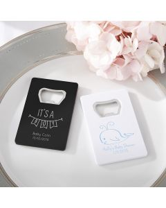 Personalized Baby Shower Bottle Opener
