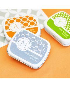 MOD Pattern Monogram Mint Tins