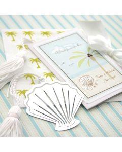 """A Jewel From the Sea"" Seashell Bookmark"