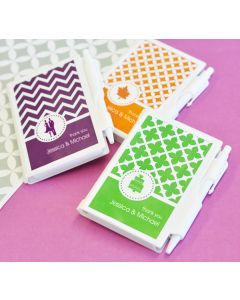 MOD Pattern Theme Notebook Favors