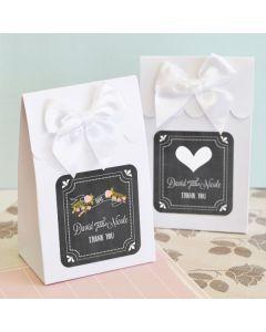 Sweet Shoppe Candy Boxes - Chalkboard Wedding (set of 12)
