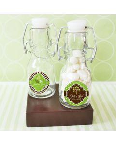 Personalized Fall Mini Glass Bottles