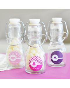 MOD Pattern Theme Mini Glass Bottles