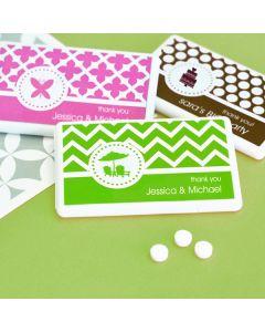 MOD Pattern Theme Mini Mint Favors