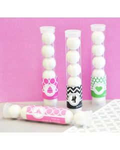 MOD Pattern Theme Personalized Candy Tubes