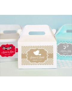 Personalized Theme Mini Gable Boxes (set of 12)