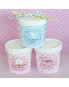 """""""Babies are Sweet"""" Mini Ice Cream Containers"""