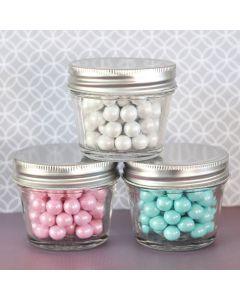 DIY Blank Small 4 oz Mason Jars