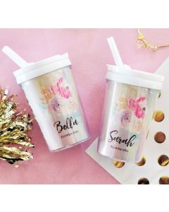 Flower Girl Sippy Cups