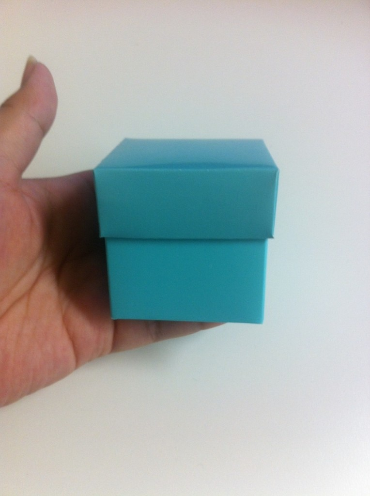 How to assemble Mini Cube Boxes Final