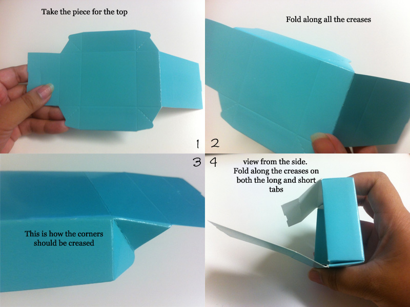 How to assemble Mini Cube Boxes 2